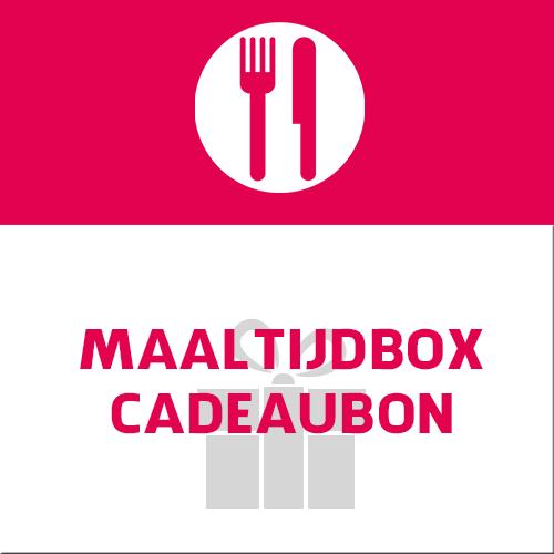 cadeaubon voor maaltijdbox