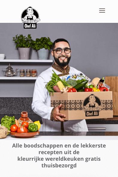 kies een chef ali foodbox