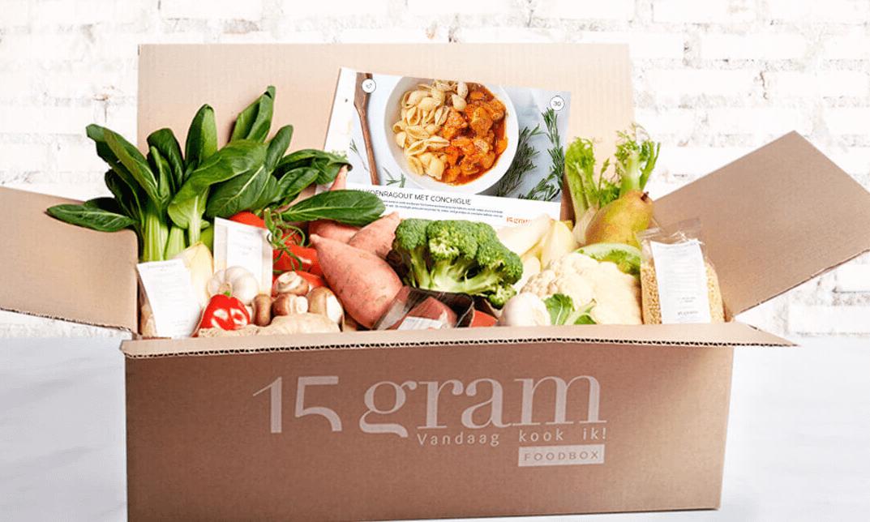 15 gram foodbox