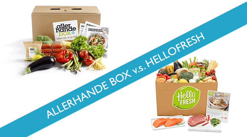 allerhande box of hellofresh