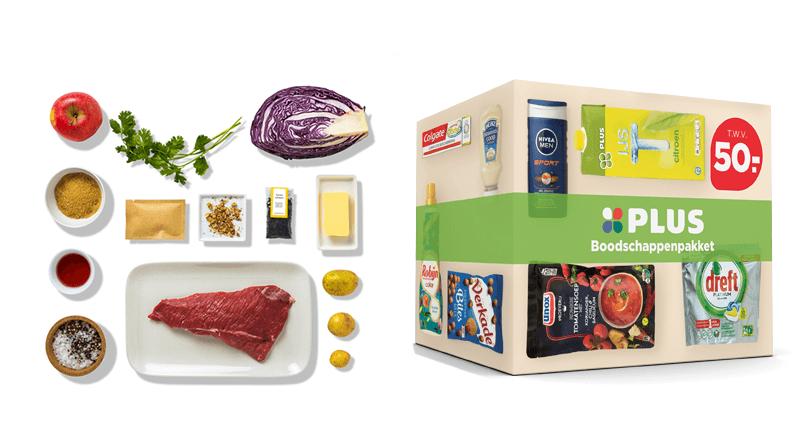 boodschappenpakket of maaltijdbox