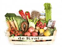 de krat gezonde foodbox