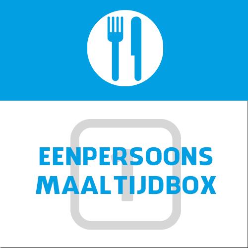 eenpersoons maaltijdbox 1 persoon