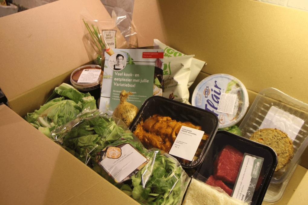 inhoud van mathijs maaltijdbox