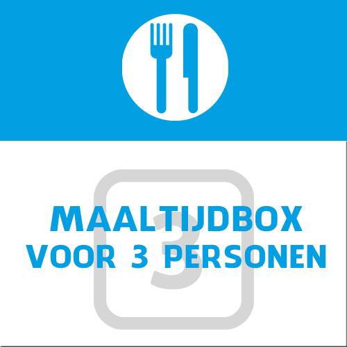 maaltijdbox voor 3 personen