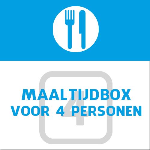 maaltijdbox voor 4 personen