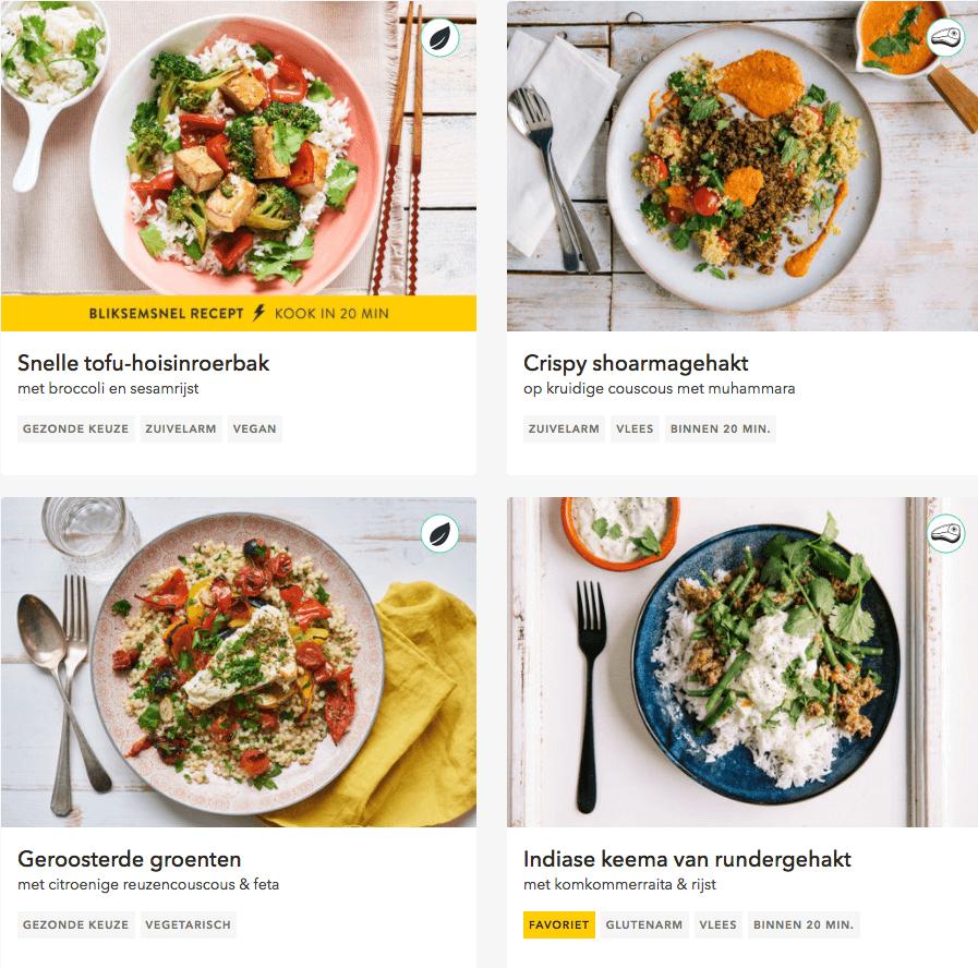 review recepten marley foodbox