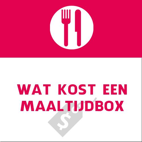 wat kost een maaltijdbox