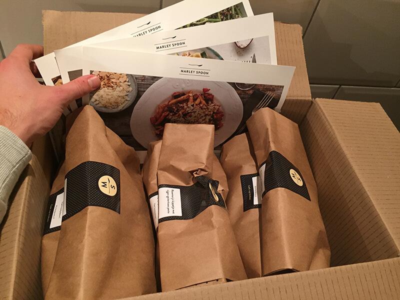 wat zit er in de marley spoon box