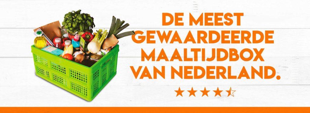 week van de voedselbank doneer een maaltijdbox