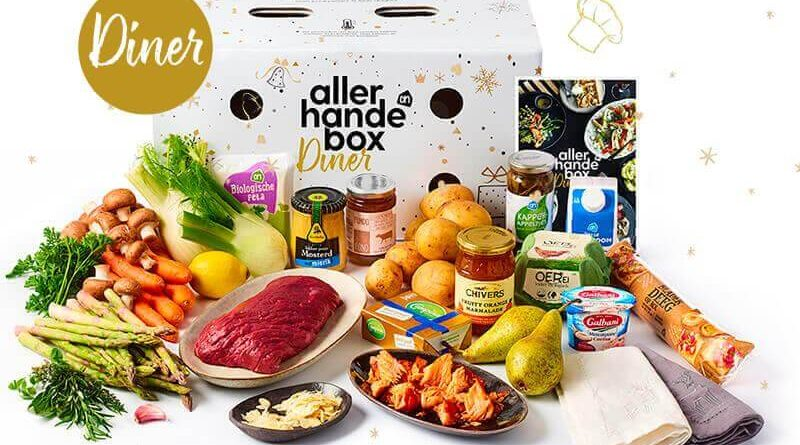 dinerbox december albert heijn
