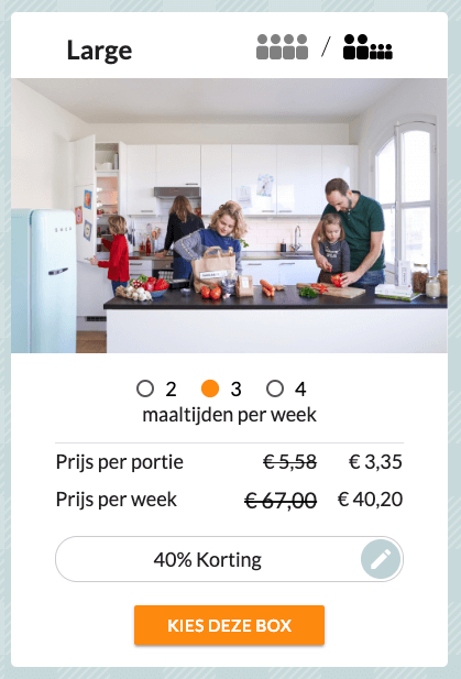 familiebox large voordeel