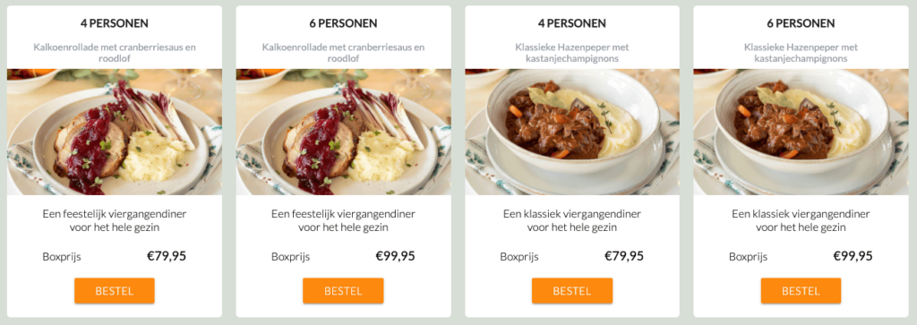familiebox gourmetbox kerst