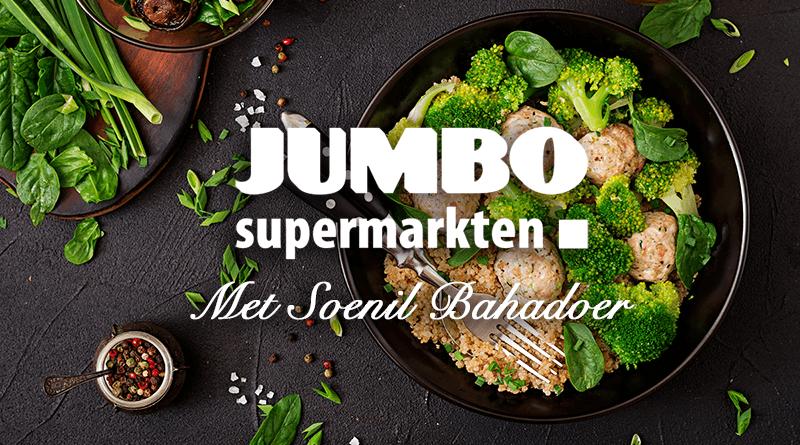 Soenil Bahadoer jumbo maaltijdbox